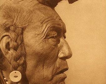 Digital image of Bear Bull Native American image