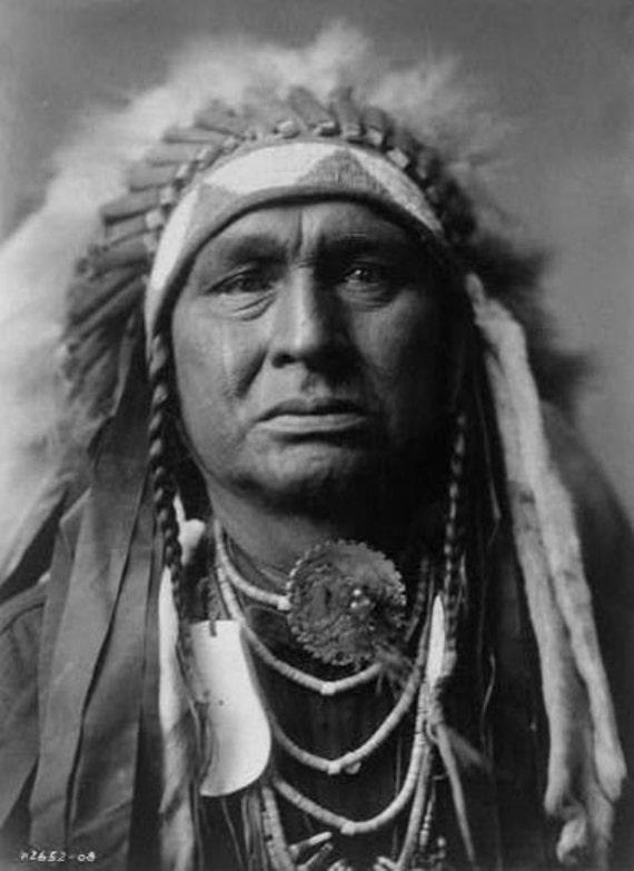 Native American Indian White Man Runs Him 8 X 10 IMAGE