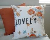 Lovely - Pillow Cover