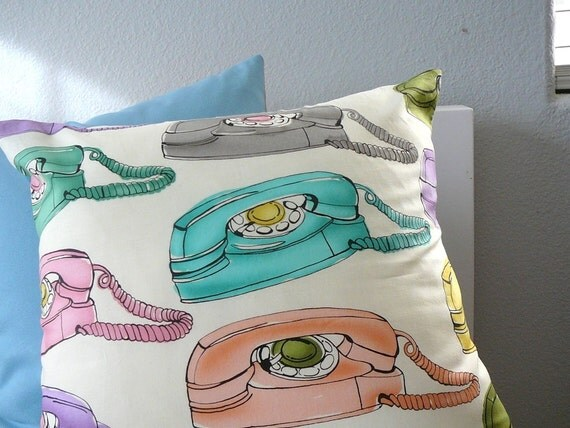 Sale - Pick up the Phone - Pillow Cover