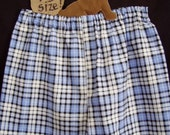 Gear4Guys Flannel Boxers blue plaid/Buy 1 Get 1