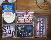 4th of July Decor, 4th of July Sign, Independence Day Decor, Independence Day Sign,   Snap, Crackle, Pop