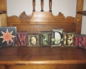 Star of Wonder Religious Christmas Sign