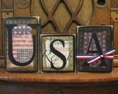 USA Sign, 4th of July Sign, Independence Day Sign, Summer Sign, Patriotic