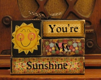 "You Are My Sunshine Summer  Sign  5.5"" wide and 4.5"" tall."