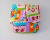 Baby Doll Diaper - Spring Garden