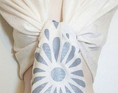 SALE - Unique Elegant Ivory Paisley Pashmina Scarf, Shawl, Wrap, Gift, Wedding, Favor, Bride, Bridesmaids Gifts, Accessories