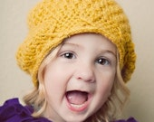 PDF Pattern-Elaina's Slouchy Hat by McKinley's Closet, size newborn-adult