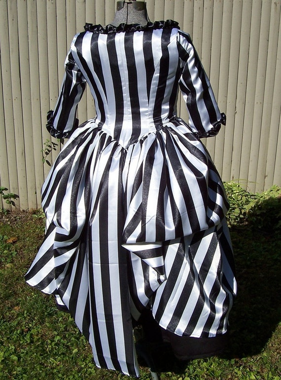 Satin Stripe Pirate Dress