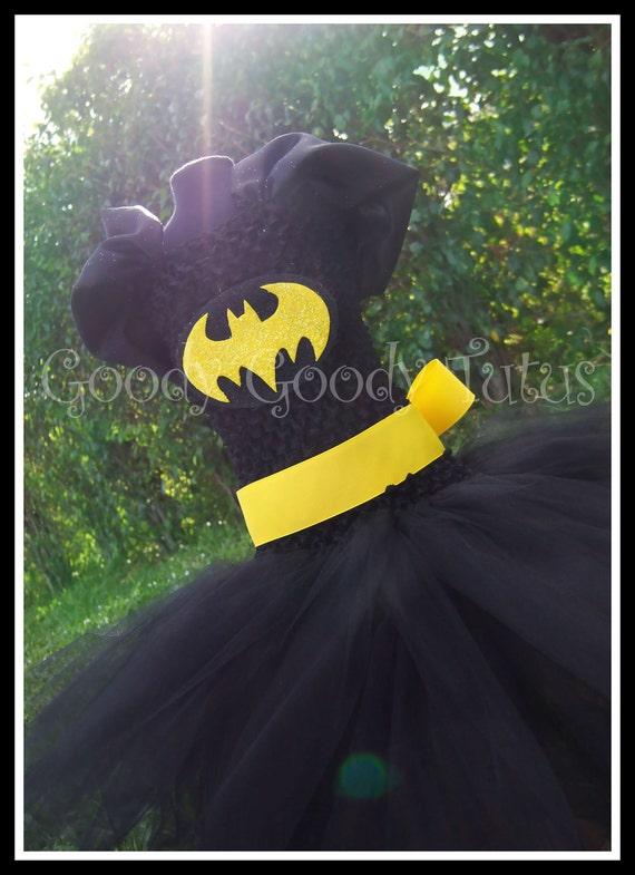 I'M BATGIRL Batman Inspired Tutu Dress - Large 4-6t