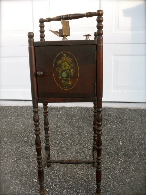 Vintage Side Table Smoker S Table Cushman Smoker 1920s