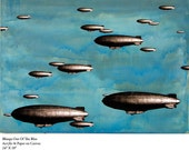 Blimps Out Of The Blue (signed archival print)