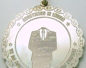 Anonymous We Are Legion Sterling   Silver Pendant      We Do Not Forget         We Do Not Forgive