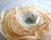 Hand Singed Flower Accessory, Rococo Inspired - The Pursuit