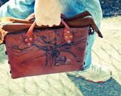 The Philosopher's Bag. Messenger Bag.
