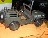 Green Army Truck- Home decor