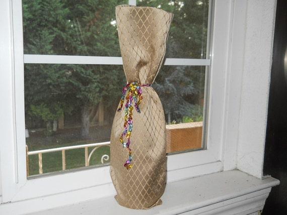 Reushable Wine Bottle Bag