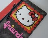 Kawaii Hello Kitty Composition Book
