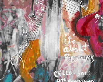 Cello Soli - Print - Brahms 4th Symphony