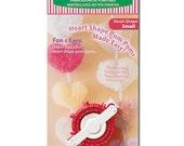 Clover Heart Shaped Pom Pom Maker Small Part No. 3170