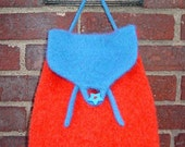 Iknitiative Knitting Pattern Flap Pack Felted Backpacks Part No. A03