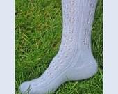 Iknitiative Knitting Pattern Snowflake Lace Socks Part No. A40