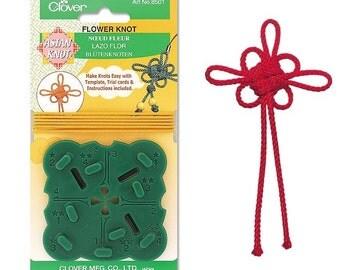 Clover Asian Knot Template Flower Part No. 8501