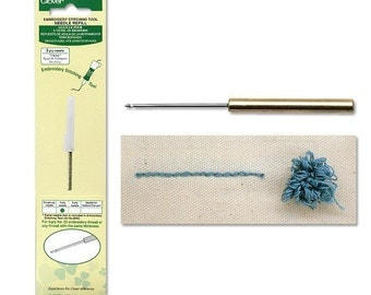 Clover Embroidery Needle Refill 3 Ply Needle Part No. 8804
