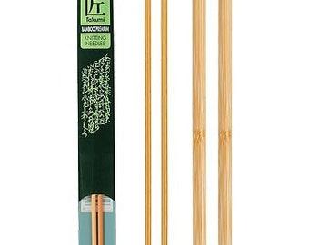 Clover 13 Inch Size 6 Takumi Single Point Bamboo Knitting Needles Part No. 3012-6