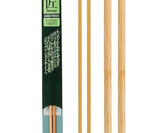 Clover 13 Inch Size 7 Takumi Single Point Bamboo Knitting Needles Part No. 3012-7