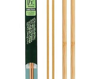 Clover 14 Inch Size 15 Takumi Single Point Bamboo Knitting Needles Part No. 3012-15