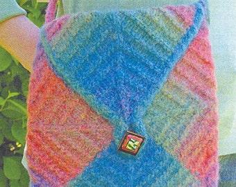 Iknitiative Knitting Pattern Pocket Packet Bag Part No. A29