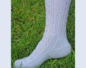 Iknitiative Knitting Pattern Snowflake Lace Socks Part No. A40 DISCONTINUED