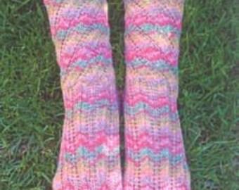 Iknitiative Knitting Pattern Magic Spiral Socks Part No. A26 DISCONTINUED