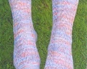 Iknitiative Knitting Pattern Narrow Arrow Socks Part No. A36 DISCONTINUED