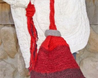Iknitiative Knitting Pattern Vesuvius Felted Bag Part No. A43 DISCONTINUED