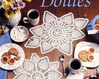 Leisure Arts Crochet Pattern Leaflet  Pineapple Doilies Part No. 2177