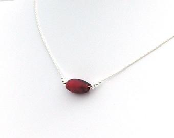 Necklace - Rare Antique Corn'de'alope Trade Bead - 1800's
