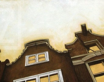 Amsterdam II - painting