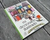 Vintage Modern Kids Book - Mi Diccionario Ilustrado