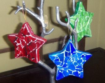 Mosaic Star Ornament