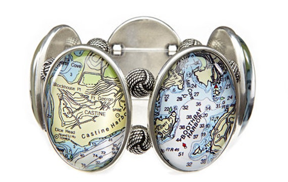 Boothbay Harbor Five Cameo Bracelet