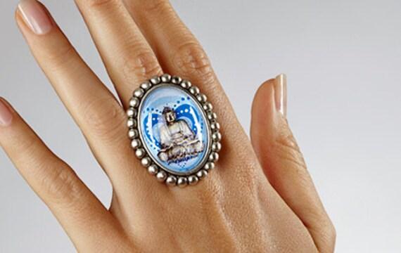Buddha Heart Ring
