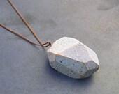 SUPER Sale- N.8 - ALBEDO / Materia Prima Necklace /Wunderkammer/