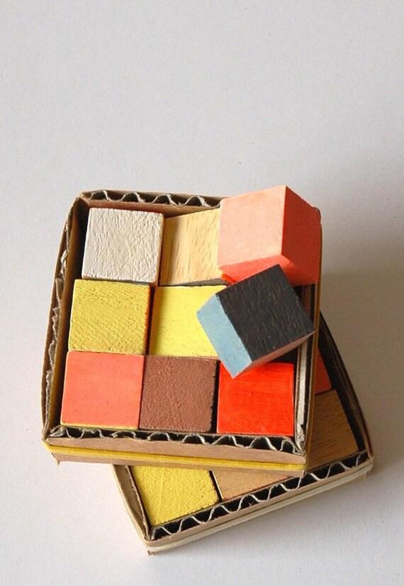 Rubik - Set of Magnets