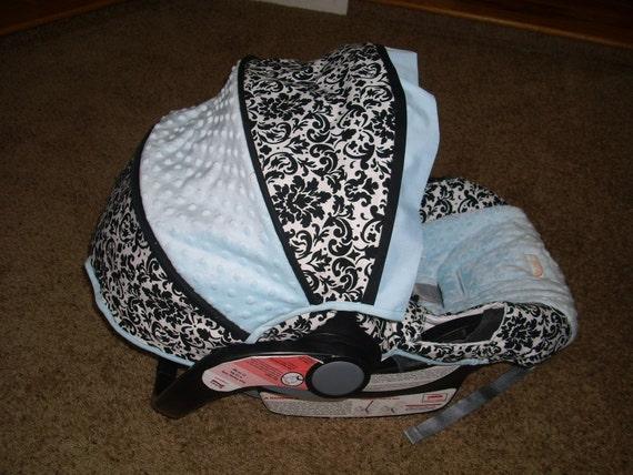 Custom Fitted Car Seat Cover By BabyBelovedBoutique On Etsy