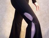 Black Shape Shifter Dance Pants