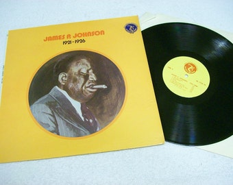 James P Johnson 1921 1926 / Blues Jazz / Olympic 7132 / Gold Medal Collection / 1974