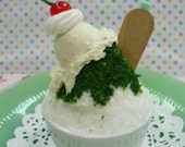 Miniature Shaved Ice Photo Stand