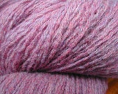1,268 yards of Sport Weight Lambswool in Heathered Grape Color